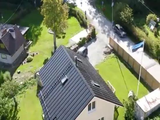 Roofit Solargebäude integriertes Solardach