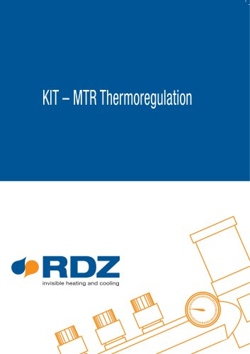Catalogue for thermoregulation KIT –...
