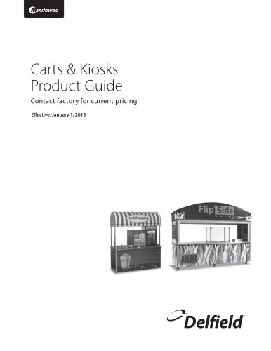 Carts & Kiosks Product Guide
