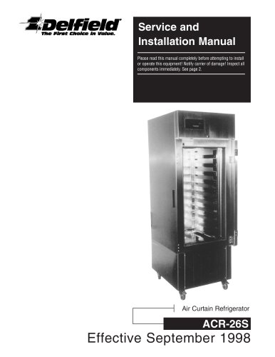 Service and Installation Manual