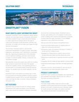 SmartPlant Fusion Solution Sheet