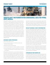 SmartPlant Instrumentation Dimensional Data for Piping (DDP) Module Product Sheet