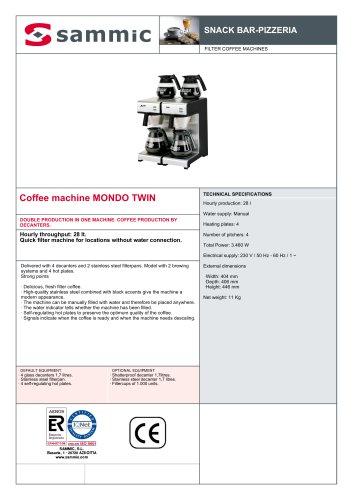 Coffee machine MONDO TWIN