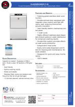 GLASSWASHER P-35