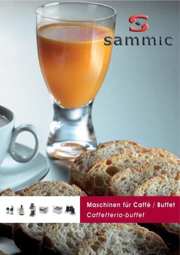 Maschinen für Bar - Café - Buffet