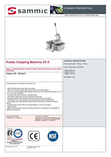 Potato Chipping Machine CF-5