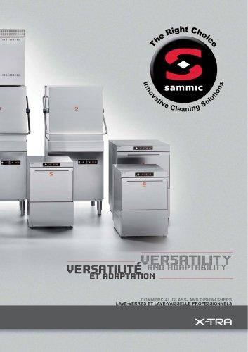 X-TRA line dishwashers