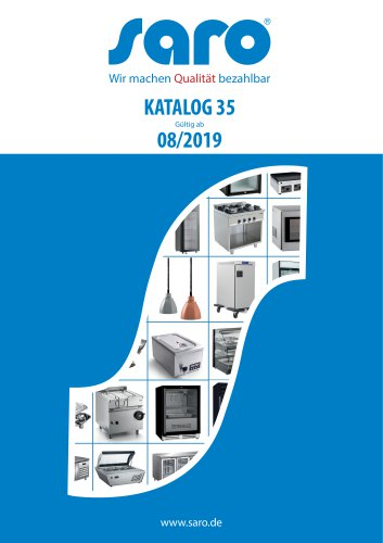 Saro Katalog Nr. 35