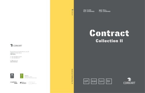 Contract Collection - Cork, Design, Fusion and Lino Concept