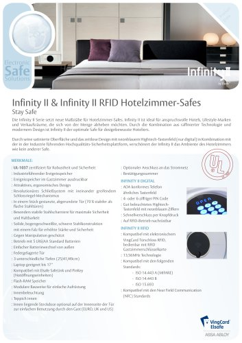 Infinity ll & Infinity II RFID by Elsafe