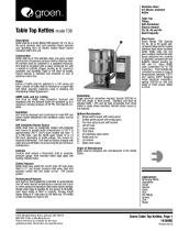 Table-Top Kettle - Model TDB