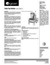 Table-Top Kettle - Model TDB 6-10