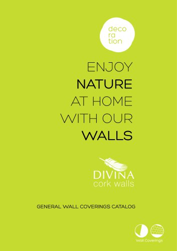 Cork wall coverings catalog