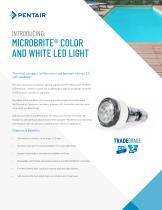 MICROBRITE® COLOR  AND WHITE LED LIGHT