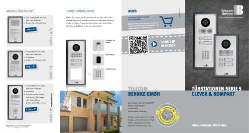 Flyer Serie 5 IP +a/b