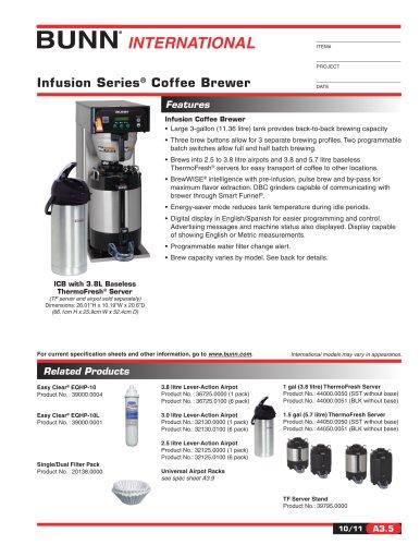 Filter Coffee Bunn:Bunn Infusion Series Coffee Brewer