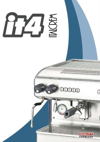 Italcrem IT4 Espresso Kaffeemaschine