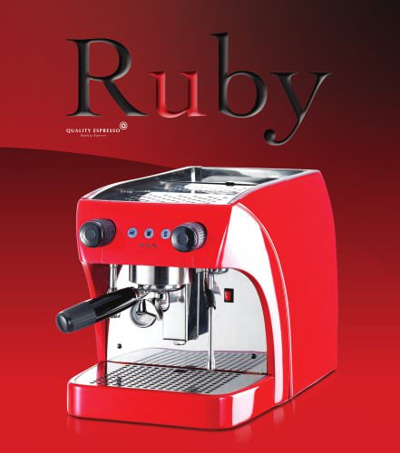 Ruby & Ruby Pro Espresso Machine