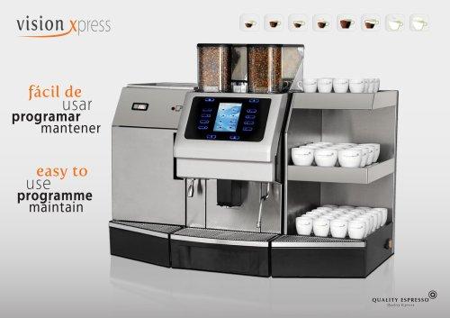 Vision Xpress Fully Automatic Espresso Machines