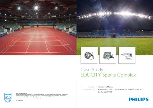 Case Study EDUCITY Sports Complex
