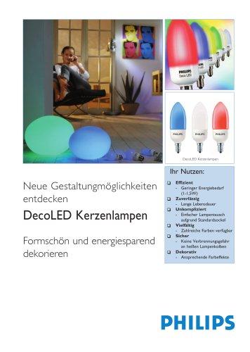 DecoLED Kerzenlampen