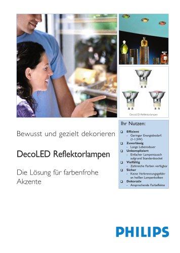 DecoLED Reflektorlampen