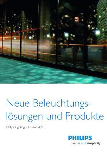 Neue Beleuchtungslösungen und Produkte