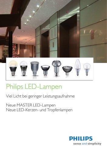 Philips Portfolio LED Lampen