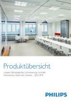 Produktübersicht Lampen, Betriebsgeräte, Lichtsteuerung, Leuchten 2013/2014