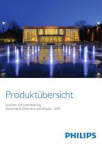 Produktübersicht Leuchten und Lichtsteuerung 2014