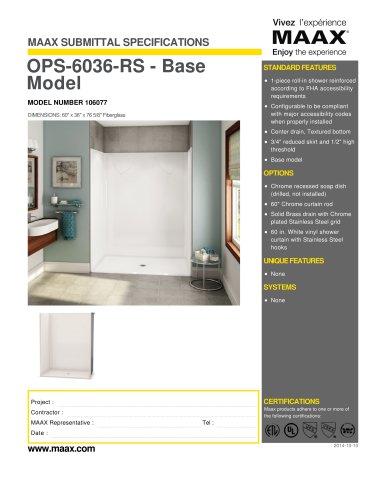 OPS-6036-RS - Base Model