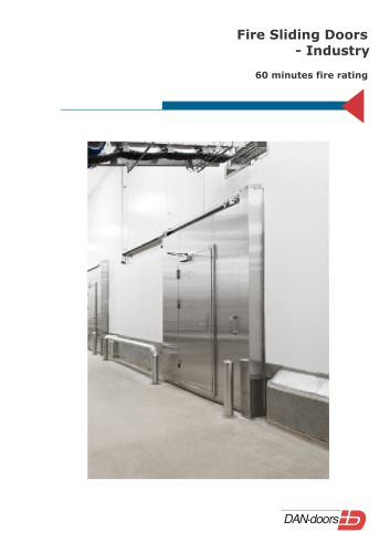 Fire Sliding Doors - Industry