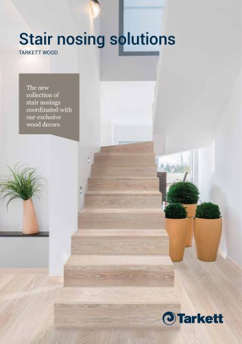 Stair nosing solutions