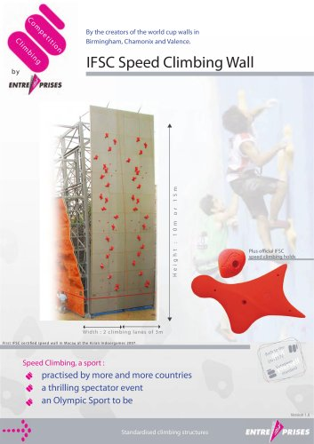 COMPETITION IFSC SPEED WALL