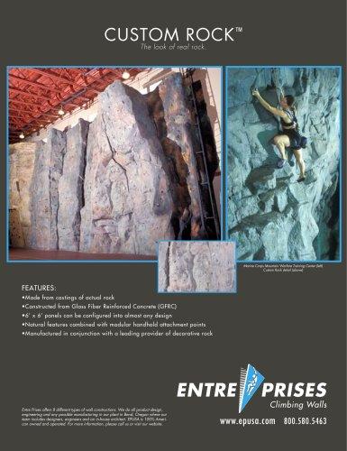 Custom Rock Product Sheet