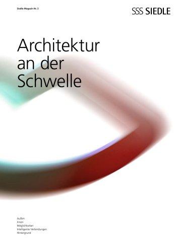 Architektur an der Schwelle