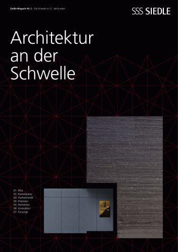 Architektur an der Schwelle: Das Siedle-Magazin