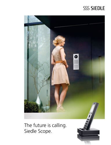 Siedle Scope - The future is calling
