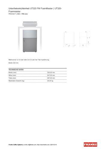 UT320 FM FoamMaste