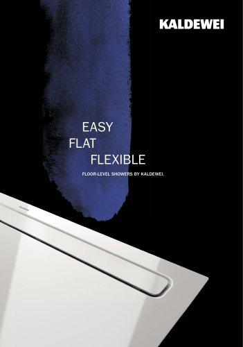 EASY  FLAT  FLEXIBLE