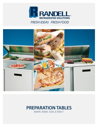 Preparation Tables Brochure