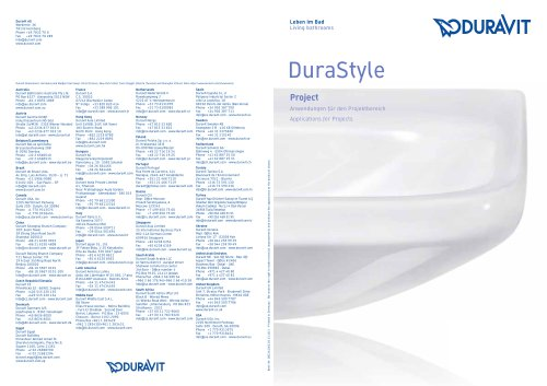 DuraStyle projects
