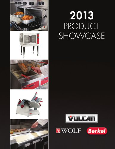 Product showcase 2013