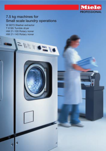 7.5 kg machines for Small scale laundry operations