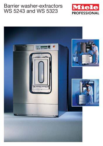 Barrier washer-extractors