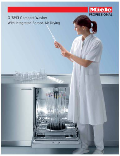 Glassware Washer Integrated Drying G 7893