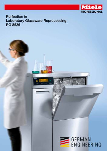 Glassware Washer Integrated Drying PG 8536