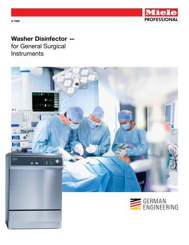 Medical  Washer - General Surgical Instruments G 7889