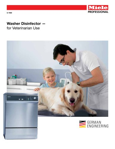 Medical  Washer - Veterinarian Use G 7889