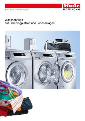 Wäschepflege in Ferienanlagen